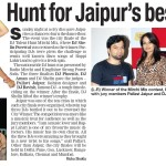 Times Of India - 23rd October 2012